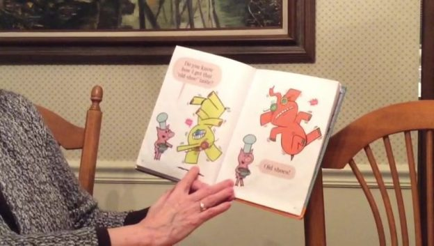 Story Time from Miss Kathy - An Elephant and Piggie book
